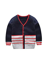 Fairy Baby Toddler Baby Boys Cotton Sweater Cardigan Knitted Buttons Coats Outwear