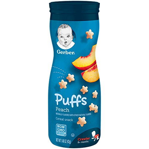 gerber baby food puffs - 8