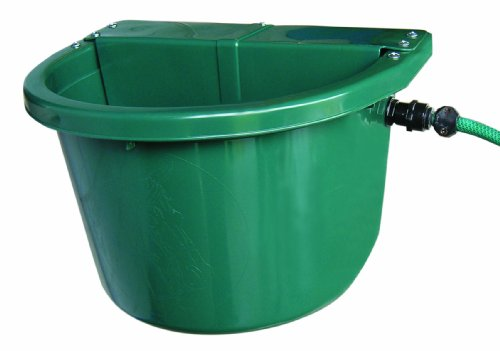 Fortiflex Automatic Waterer Bucket for Dogs/Cats and Small Animals, 20-Quart, Hunter Green ()