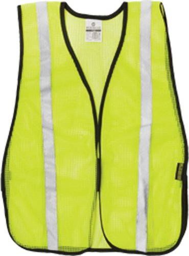 ML Kishigo P Series Mesh Vest with Silver Tape, Lime