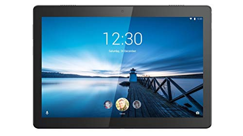 Lenovo Tab M10 – Tablet de 10.1″ HD/IPS (Qualcomm Snapdragon 429, 2 GB de RAM, 32 GB ampliables hasta 128 GB, Android 9, Wifi + Bluetooth 4.2), Color Negro