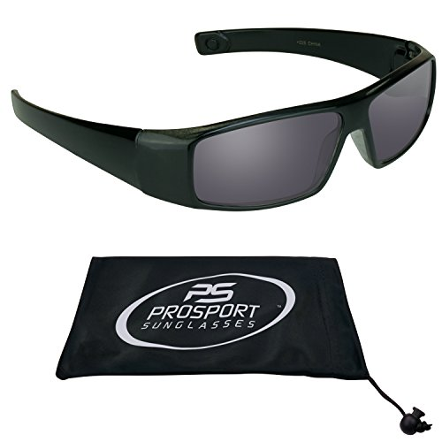 PRO Sun readers Full lens reading Sunglasses 2.5 for Men. Free Microfiber Cleaning Case. Fits Large to Extra Large Head Sizes.