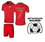 Best Soccer Jerseys - Portugal Ronaldo Kids #7 Soccer Kit Jersey Review