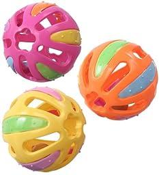 Super Bird Creations Kaleidoballs Toy for Birds - 4 pack