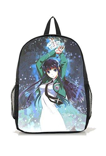 Dreamcosplay Anime The Irregular at Magic High shiba miyuki Logo Backpack Bag - Shiba Miyuki Costume