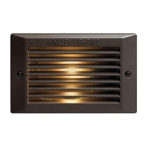 Hinkley Lighting 58009BZ 120V Line Voltage Step Light, 9 Watt CFL G23-2 Light Bulb, Bronze