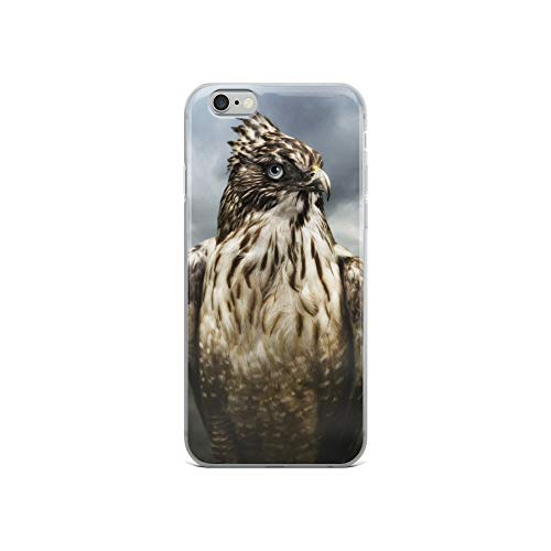 - iPhone 6/6s Case Anti-Scratch Creature Animal Transparent Cases Cover We are Animals Hawk Animals Fauna Crystal Clear