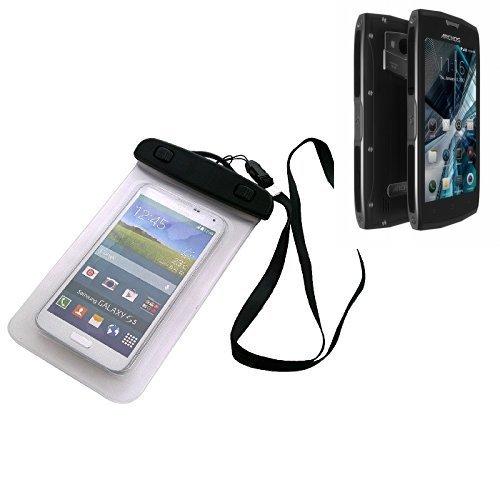 Custodia Cellulare Impermeabile Universale Pollici Waterproof Cover Case per Archos Sense 50X. Universale Beach Bag / parapioggia / manto nevoso 16 centimetri x 10 centimetri - K-S-Trade(TM)