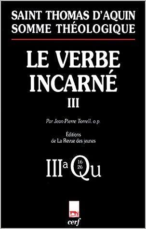 Livre gratuits en ligne Le Verbe incarné, tome 3 pdf, epub