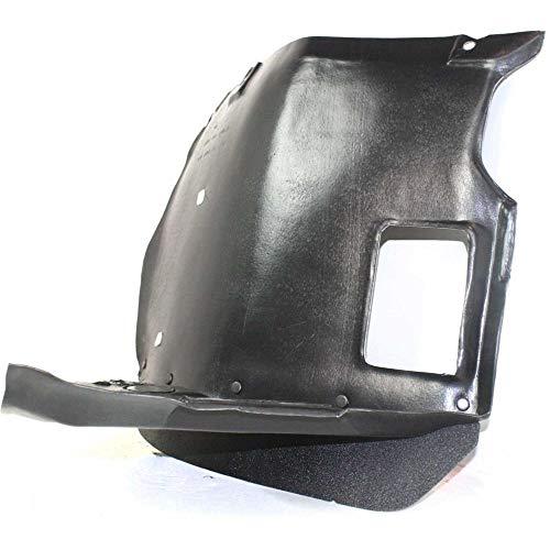 KA LEGEND Front Right Passenger Side Fender Liner Inner Panel Splash Guard Shield for 2001-2005 BMW 325i 99-2000 323i 51718193812 BM1251106