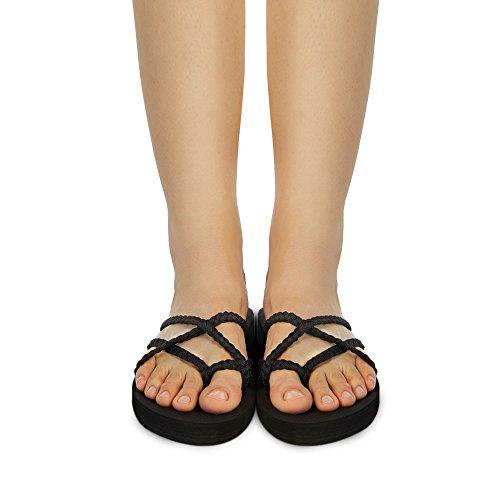 c4b3f0359b1 GOOD CHOICE Everelax Womens Flip flops Sandal 8 B M US