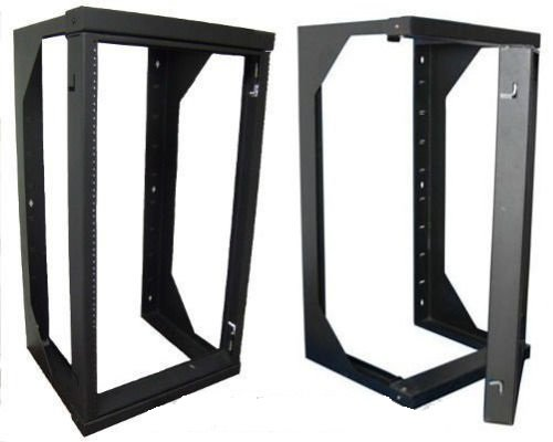 GHP 40''x20.5''x25'' 20-Units Professional Wall Mount Swing Out Gate Network IT Data Rack
