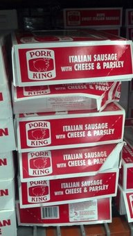 Pork King: Italian Sausage with Cheese & Parsley 5 Lb.