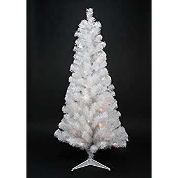 northlight pre lit white artificial tinsel christmas tree with clear lights 2 x - 2 Christmas Tree