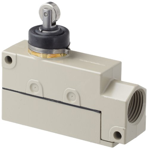 Switch Purpose General Enclose - Omron ZV2-N22-2S General Purpose Enclose Switch, High Breaking Capacity and Durability, Sealed Roller Plunger, Single Pole Double Throw AC, Base Mounting, 1/2-14NPSM Conduit Size