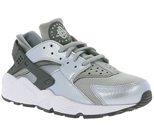 Nike Womens Air Huarache Run Wolfgrey 634835-014 (dimensioni: 7)