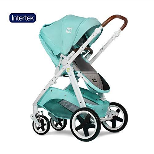 ☝YEC Two-Way Stroller, Three-in-one Cart Handle Adjustment Large Storage Basket Pram Pushchair (Color : I)