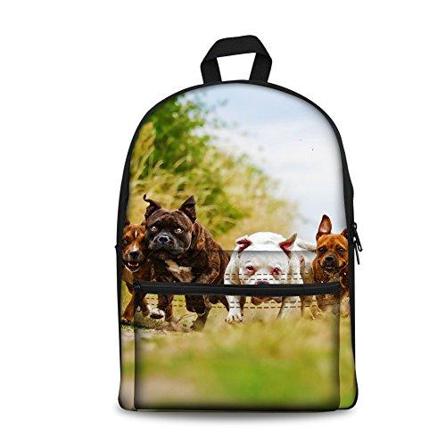 Kids Back to School Backpack Canvas Book Bag ()
