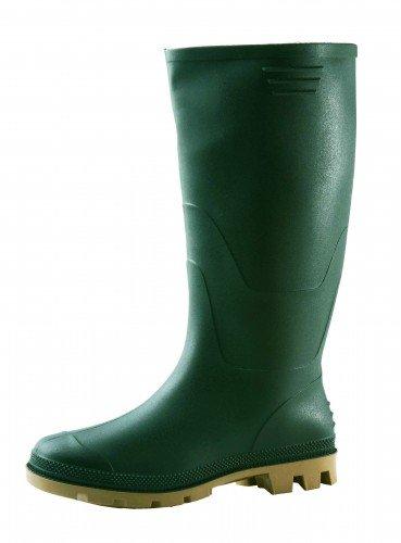 Ginocchio Stiefel PVC grün ohne Stahlkappe Gr.41