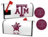 Texas A&M Aggies Magnetic Mailbox Cover & Sticker Set