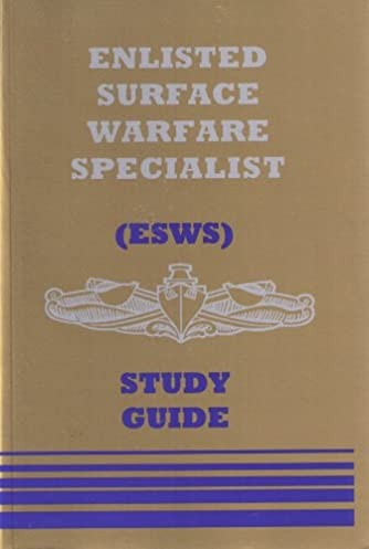 amazon com enlisted surface warfare specialist study guide rh amazon com Surface Warfare Officer Logo Surface Warfare Officer Resume