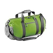 Bagbase Athleisure Water Resistant Shoulder Strap Holdall Kit Bag (One Size) (Lime)