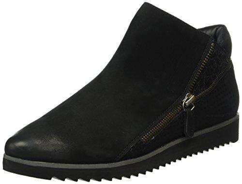 Gerry Weber Evelyn 08, Zapatillas de Estar por Casa para Mujer Negro - Schwarz (schwarz-kombi 109)