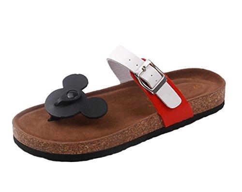 SK Studio - Zapatillas de estar por casa para hombre Black Mikey