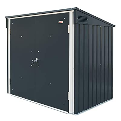 Duramax Metal Wheelie Bin Storage Shed