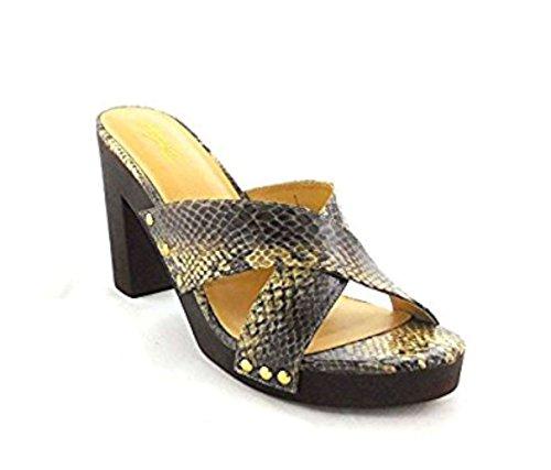 Sandales Femmes 41 Eu Snake Brown Compensées Marron Couleur Sodi Thalia Taille UPEqgwpxx
