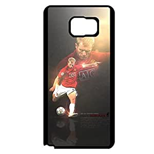 Awesome Graceful Cover Shell Famous Players Design Case Paul Scholes Pattern Phone Case for Samsung Galaxy Note 5