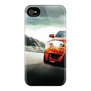 Tpu Fashionable Design Bmw M Coup Rugged Case Cover For Iphone 4/4s New