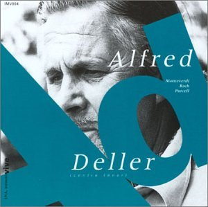 Alfred Deller: Live in France by Harmonia Mundi USA