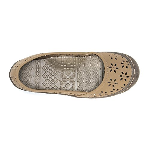 Muk Luks Womens Sand Shoes Sneaker Tan