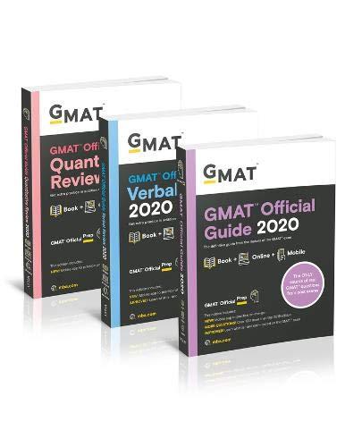 Pdf Test Preparation GMAT Official Guide 2020 Bundle: Books + Online