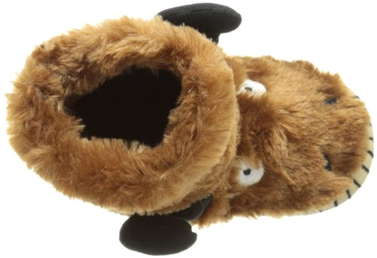 Hatley Slouch - Moose, Boys' Slippers, Brown (Brown) S Child UK