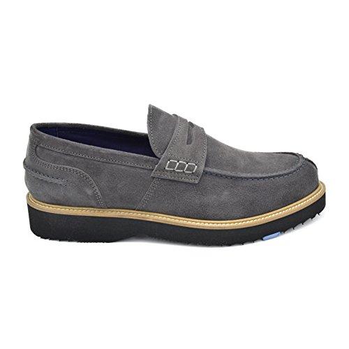 drudd Hombre Euviseuaw1701 zapatos - Derby gris