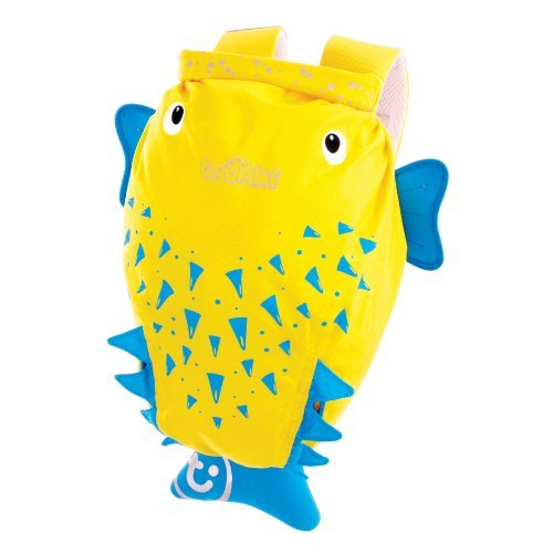 Trunki PaddlePak Backpack - Water Resistent Kids Backpack (Spike), Yellow by Trunki