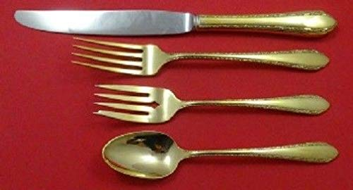 Wild Flower Vermeil By Royal Crest Sterling Silver Regular Size Place Setting(s)