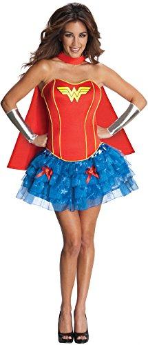 Secret Wishes DC Comics Wonder Woman Corset And