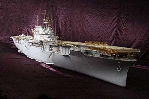 MK.1 Design 1:200 USS CV-8 HORNET Super Detail-up DX PACK with FULL WOODEN DECK for Trumpeter or Merit