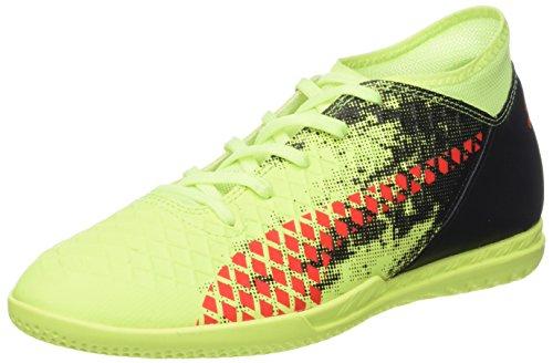 Puma Unisex-Kinder Future 18.4 IT Jr Fußballschuhe Gelb (Fizzy Yellow-Red Blast-Puma Black)