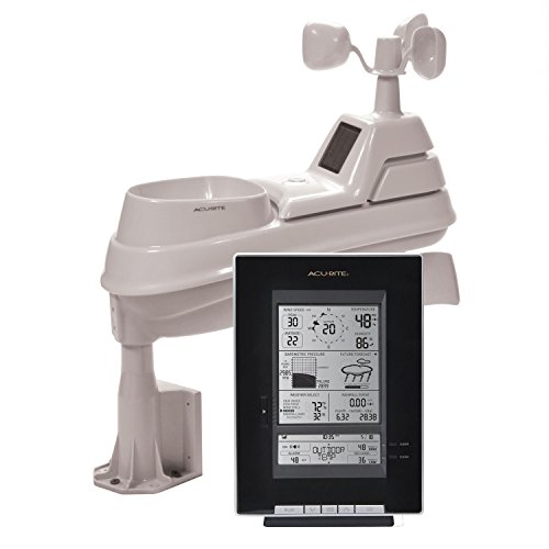 AcuRite 01514M Pro 5-in-1 Weather Station with Wind & Rain