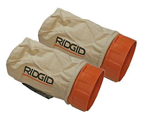 Ridgid R2611 R.O. Sander (2 pack) Replacement Dust Bag Assembly # 300027056-2pk
