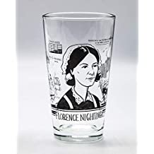 Cognitive Surplus Heroes of Science: Florence Nightingale Pint Glass
