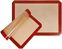 STATINT Silicone Baking Mat Non-Stick, Half Sheet Heat Resistant Liner | Cookies, Meats, Vegetables, Pastries | Reusable,...
