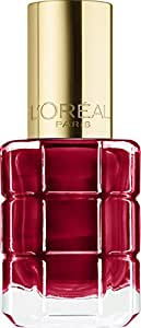 L'Oreal Paris Le Vernis À L'huile by Colour Riche Nail Polish, Rouge Sauvage 550