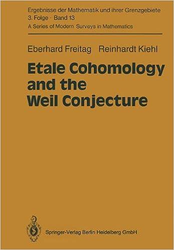 Etale Cohomology and the Weil Conjecture (Ergebnisse der Mathematik ...