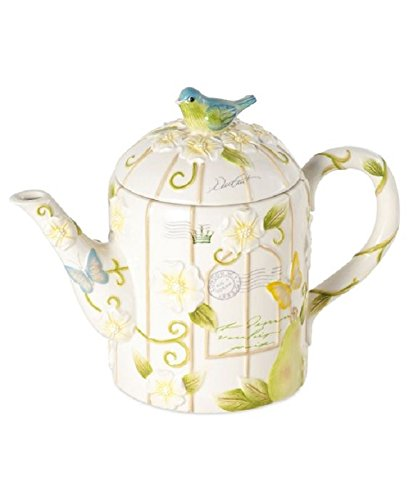 Mikasa Antique Countryside Pear Teapot
