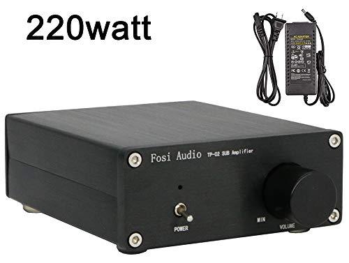 Subwoofer Amplifier TDA7498E Mini Sub Bass Amp Digital Class D
